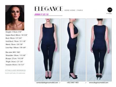 Anna Y US 10 - Fitting Model