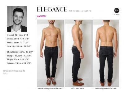 Antony - Fitting Model
