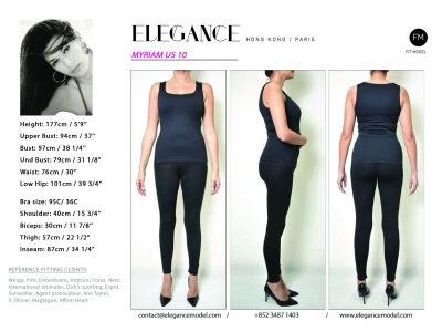 Myriam US 10 - Fitting Model